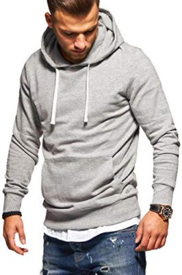 Sweat-shirt Chemise Manches Longues Pull Col Rond Classic unicolore Hommes Bolf 1a1 Basic