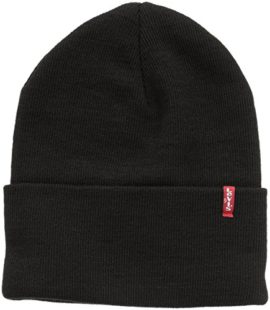 Levis-New-Slouchy-Beanie-W-Red-Bonnet-Homme-0
