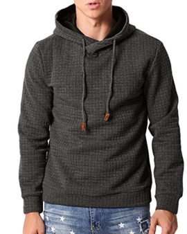 MODCHOK-Homme-Sweat--Capuche-Pullover-Pull-Hoodie-Sweat-Shirt-Jumper-Top-Manches-Longues-Uni-0
