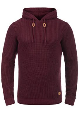 Redefined-Rebel-Micha-Pull-en-Grosse-Maille--Capuche-Pull-Over-Tricot-pour-Homme-100-Coton-0