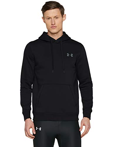 under armour rival fitted sweat capuche homme. Black Bedroom Furniture Sets. Home Design Ideas
