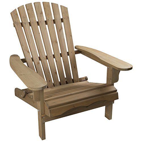 woodside chaise adirondack en bois pour ext rieur. Black Bedroom Furniture Sets. Home Design Ideas