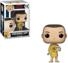 Funko-Figurines-Pop-Vinyl-Stranger-Things-Eleven-in-Burger-Tee-Collectible-Figure-35057-Multcolour-0