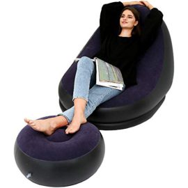 LONEEDY-Fauteuil-Gonflable-et-Repose-Pieds-0