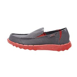 Dude-Shoes-Hommes-Farty-Funk-Dark-Grey-Rouge-0