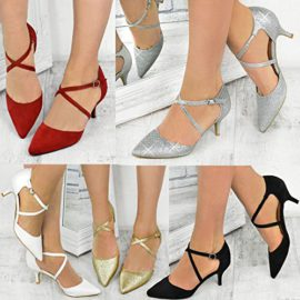 Fashion-Thirsty-Sandales--Petits-Talons-Lanires-MariageSoire-Femme-0