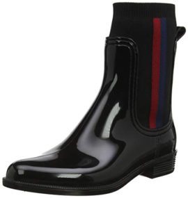 Tommy-Hilfiger-Knitted-Rain-Boot-Botines-Femme-0