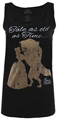 Disney Tale As Old As Time T-Shirt Femme