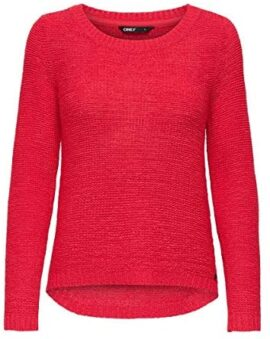 Only Onlgeena XO L/S Pullover KNT Noos Pull Femme