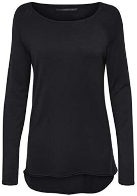 Only Onlmila Lacy L/S Long Pullover KNT, T-Shirt Femme