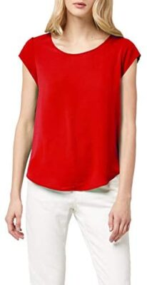 Only Onlvic S/S Solid Top Noos WVN T-Shirt Femme