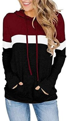 ihot Sweat-Shirts Femmes Sweat à Capuche Manches Longues Automne Mode Chemise Fille Pullover Jumper Hoodie Sweat Tops