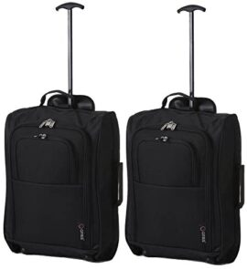 5 Cities Trolley Bag Bagage Cabine, 55 cm