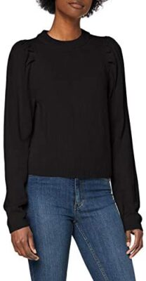 Only Onlnicoya L/S Puff Pullover KNT Sweater Femme